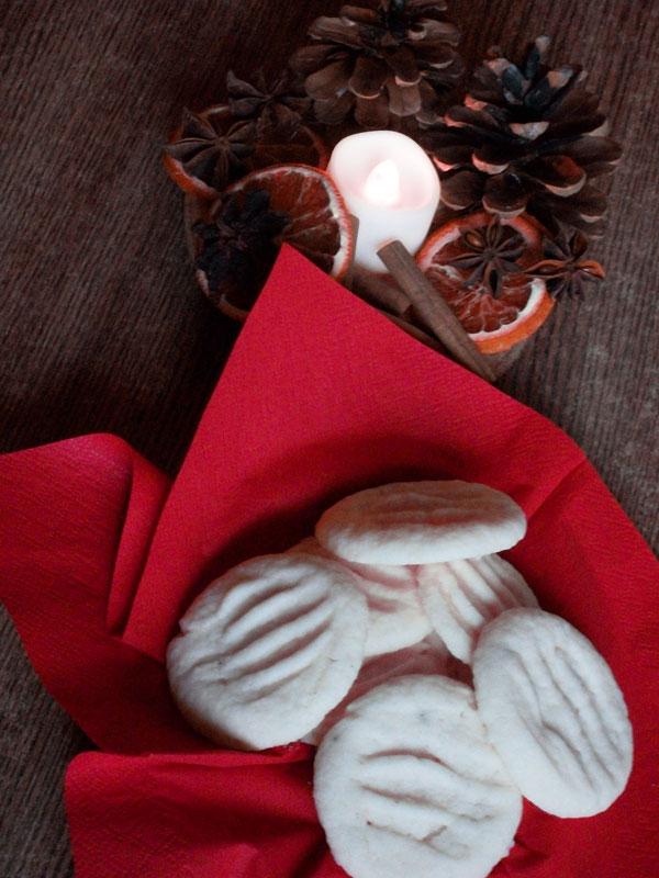 Schneeflöckchen zu Weihnachten