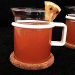 Alkoholfreier Cranberry-Orangen-Punsch - Flockelicious