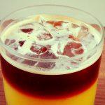 Geeister Espresso auf Vanille und Orange - Flockelicious