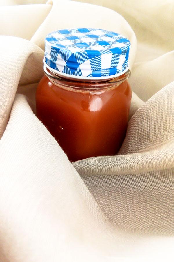 Leckere Salzkaramell-Soße im Glas - Flockelicious